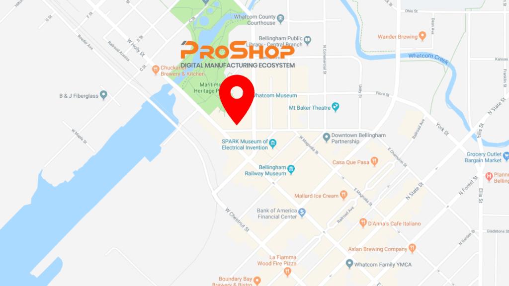 Pro Shop Map