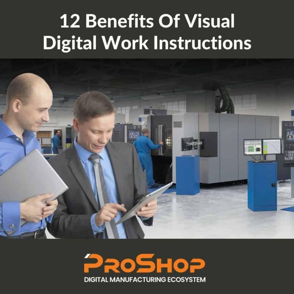Visual digital work instructions