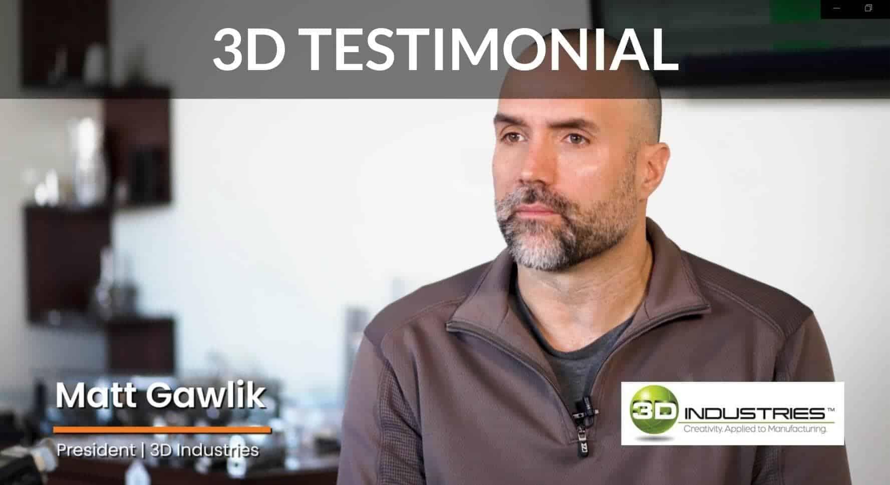 3D Testimonial