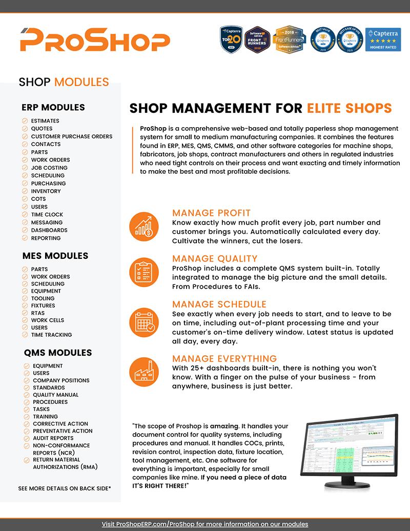 2 Page Module Sheet