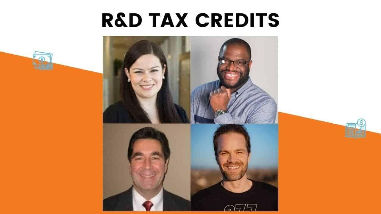 TAKE ADVANTAGE OF THE R&D TAX CREDIT